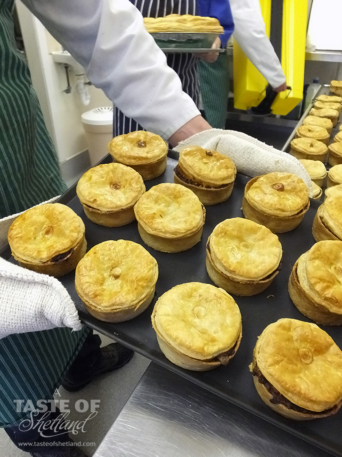 J.K Anderson pies fresh out of the oven