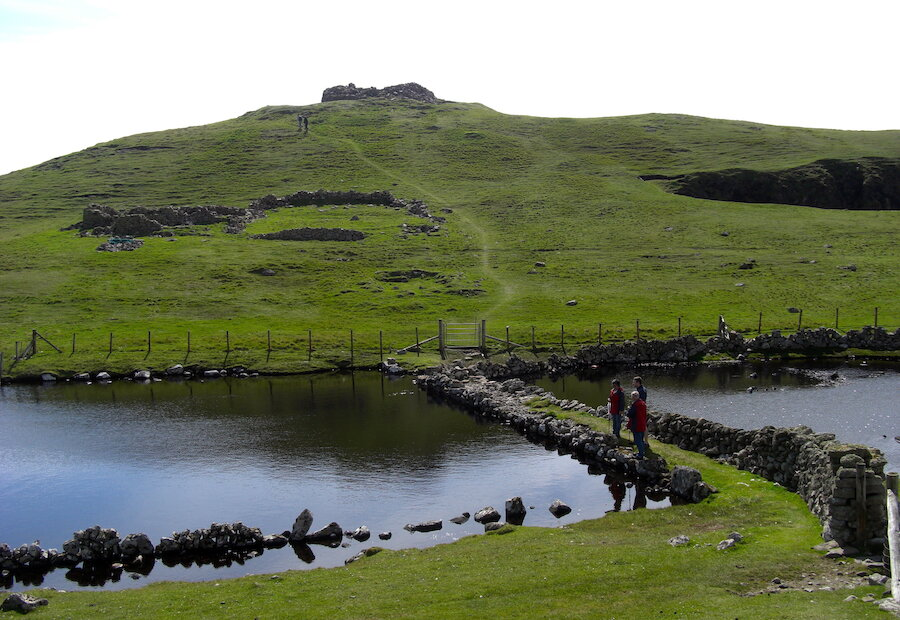 Culswick Circular Walk, West Mainland of Shetland