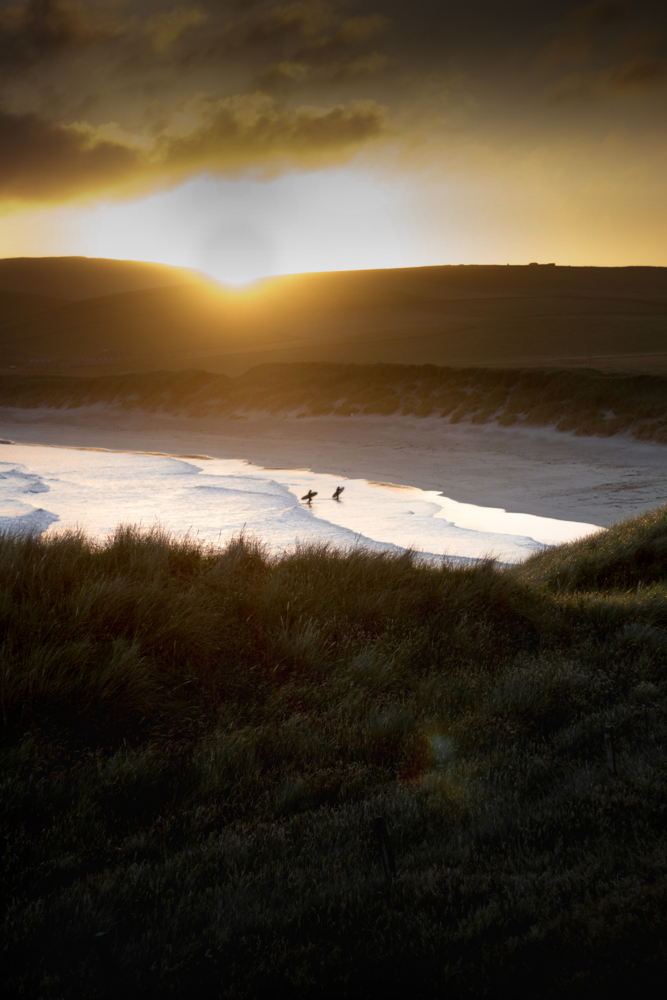 Sunset surfing at Quendale | Ritchie Williams