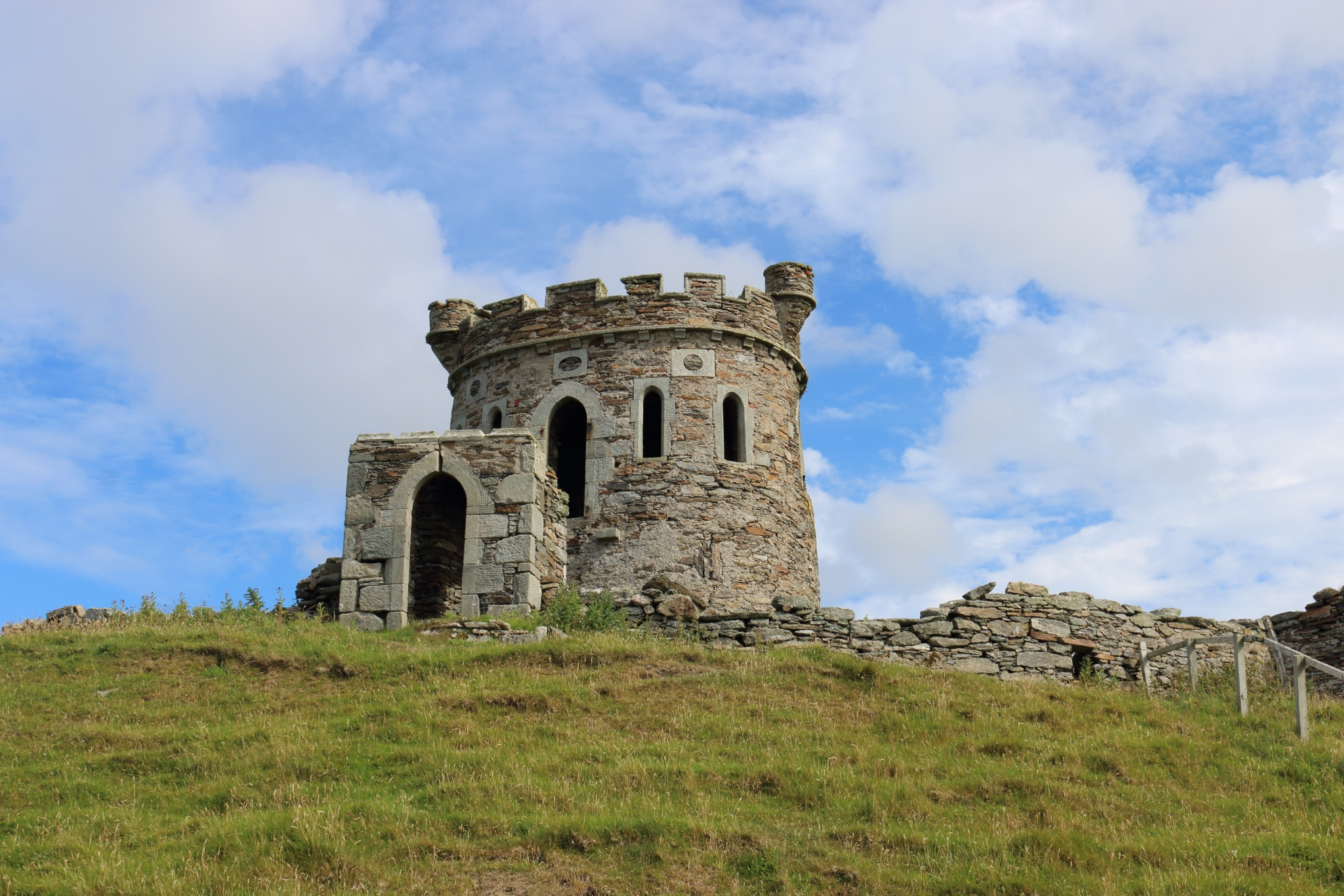 Observation Tower, Brough Lodge. Photo by Laurie Goodlad