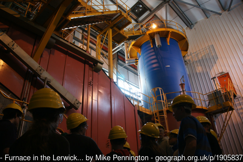 The interior of the Energy Recovery Plant (Courtesy and Copyright Mike Pennington, Creative Commons Licence)