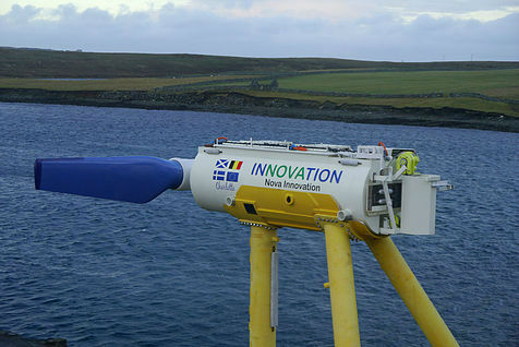 The turbine before installation (Courtesy Nova Innovation)