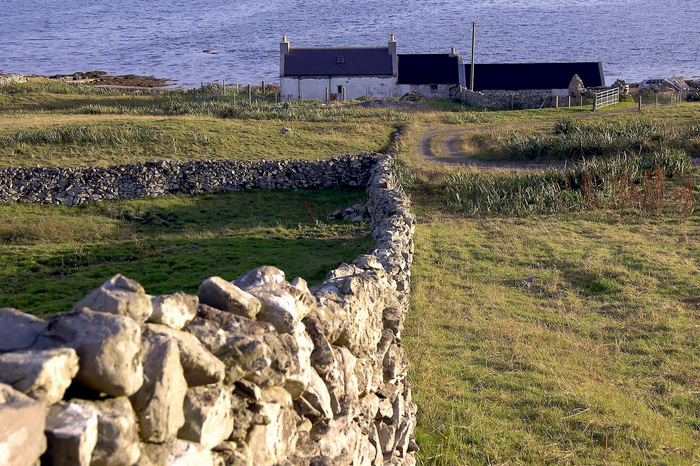 A shoreside cottage at Bridge of Walls (Courtesy Promote Shetland)